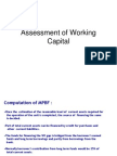 Assessment of Cash Credit