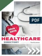 2014-2015 EJC Healthcare Directory