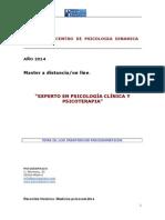 Experto en Psicología Clínica y Psicoterapia.tema Ix.psicosomática