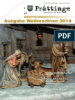 Tuxer Prattinge, Ausgabe Weihnachten 2014
