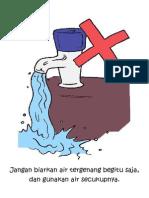 Jangan Biarkan Air Tergenang Begitu Saja