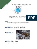 Informe Visita a Lab Maquinaria