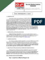 Hoja informativa 1-2010