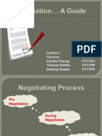 Negotiation Planning Template
