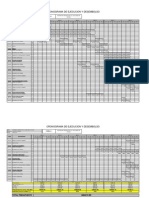 Cronograma de Ejecucion de Obra-Vilque abastesimiento de agua potable