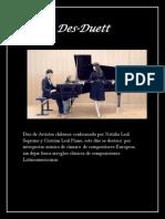 Des-duett Reseña Musical