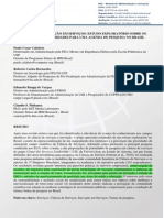 A Ciência Da Inovação Em Serviços - Estudo Exploratório Sobre Os Interesses e Prioridades Para Uma Agenda de Pesquisa No Brasil.