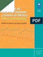 Desarrollo Humano Genero Mexico 2014