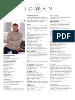 Rowan - Pattern MansRibSweater