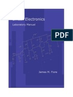 Laboratory Manual for Linear Electronics