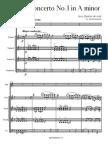 Accolay - Violin Concerto in a