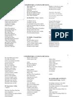 Canções Para a Cantata