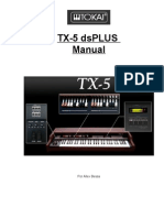 Manual Tokai TX-5 by Allex Bessa