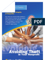 Avoiding Theft in Your Nonprofit