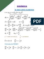 Formulas Dinamica I