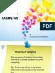 Sampling Methods