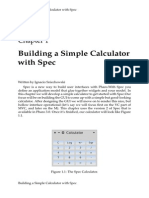 A calculator in Pharo Smalltalk using Spec
