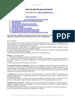 Apuntes Derecho Procesal Penal