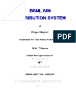 Project Documentation Sim Distribution