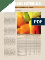 Frutas Chilenas - Mercado Ee.uu Marzo-Abril 2014