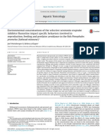 Aquatic Toxicology Volume 151 Issue 2014 [Doi 10.1016_j.aquatox.2013.10.012] Weinberger, Joel; Klaper, Rebecca -- Environmental Concentrations of the Selective Serotonin Reuptake Inhibitor Fluoxetine Impact Specif_2