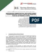 Fabio Medina Osório - Improbidade administrativa reflexões sobre laudos periciais ilegais e desvio de poder em face da Lei federal nº 8.42992.pdf