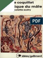 La Poetique Du Mâle - COQUILLAT, M