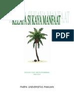 makalah tentang buah kelapa