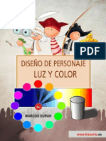 Dise o de Personaje Luz y Color