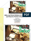 Office and Home Delivery of Lunch Dinner and Meals for Parties in Vancouver British Columbia