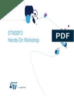 STM32F3 Hands-On Workshop