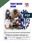 Biomedical Equipment Servicing NC II