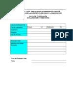 Lista Verificación Evaluación Documentaria Practica