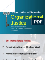 Ob Organizational Justice