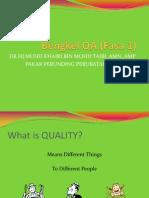 QAP Summary [R]
