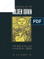 Revelations of the Golden Dawn - R.a. Gilbert