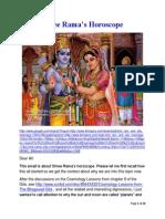 Shree Rama s Horoscope