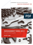 Book - MANAGEMENT TOOLS 2013 an Executives Guide