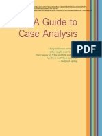 Web - Guide to Case Analysis