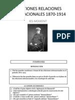 Cuestiones Relaciones Internacionales 1870-1914