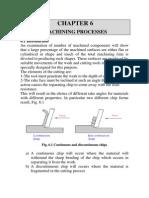 Machining Processes