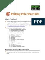 PowerPoint Handout