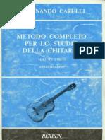 Metodo COMPLETO Chitarra - Ferdinando Carulli