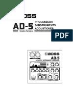 Boss AD-5 Mode d'emploi.pdf