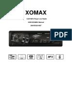 XOMAX XM RSU216BT Manual de Instruccione Espanol