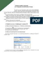 Cod Penal - Varianta CIN