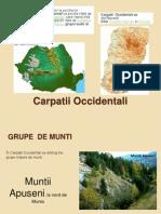 Carpatii Occidentali