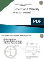 Displacement Velocity Transducer