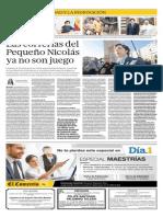 Yolanda Vaccaro sobre el Pequeño Nicolás en El Comercio