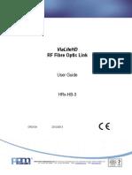 HRx-HB-3 ViaLiteHD RF Link Handbook